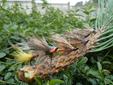 Mouches bretonnes revisitées et mouches non conventionnelles.